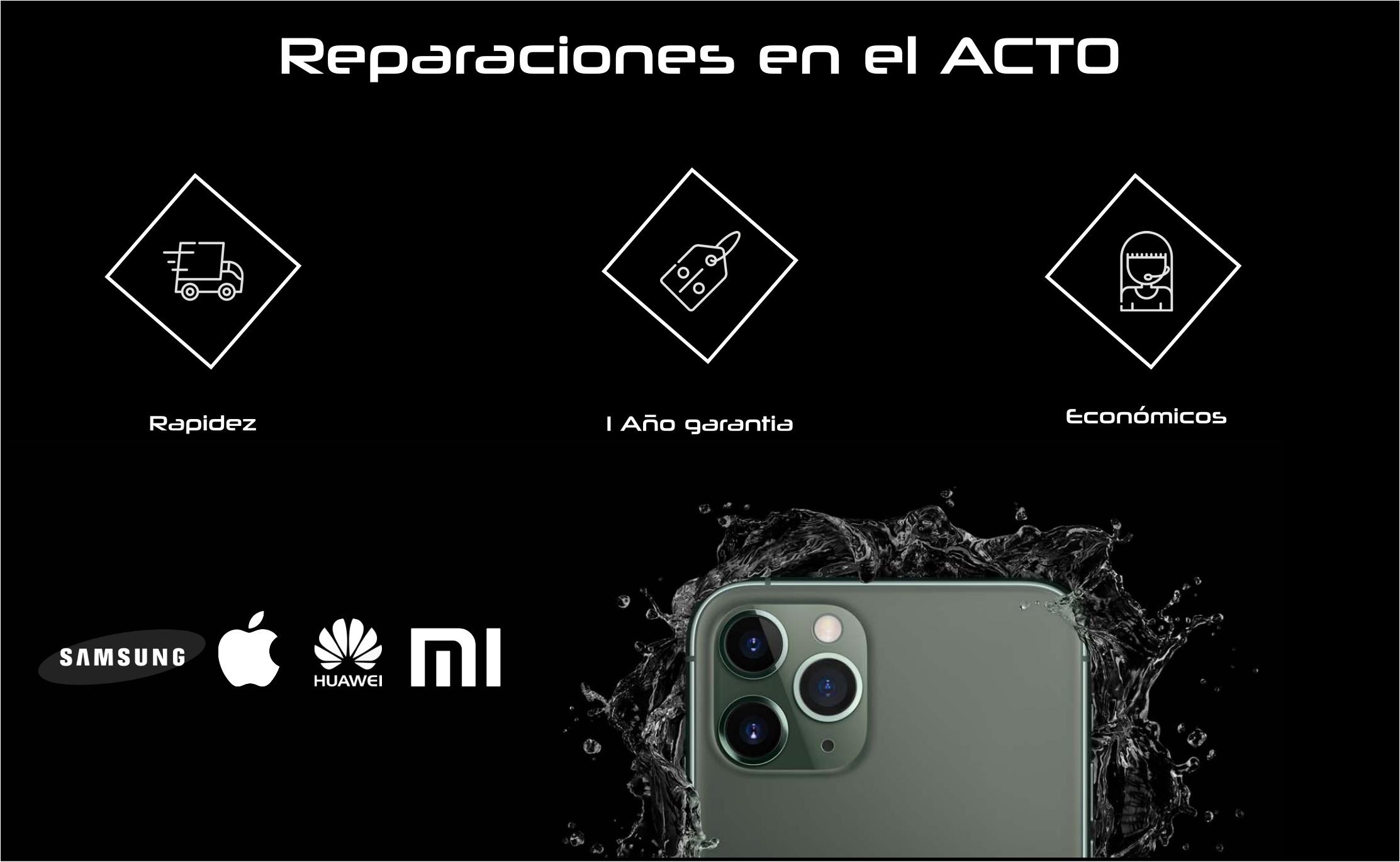 reparar móvil Alcatel servicio tecnico